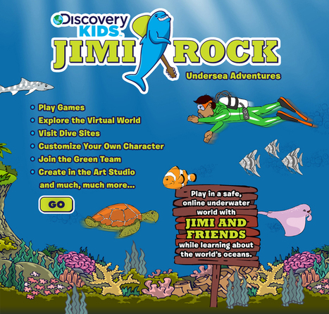 Jimi Rock Undersea Adventures | Discovery Kids | 21st Century Homeschooling | Scoop.it