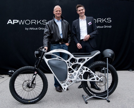World's First 3-D Printed Motorbike Unveiled | Technology in Business Today | Scoop.it