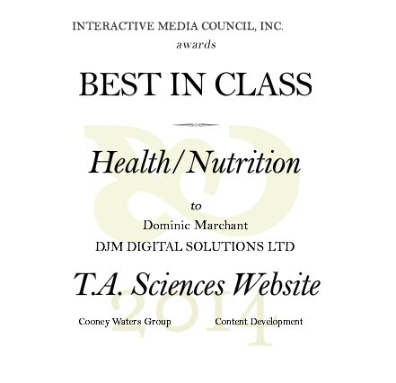 "DJM Wins ""Best In Class"" Interactive Media Award 