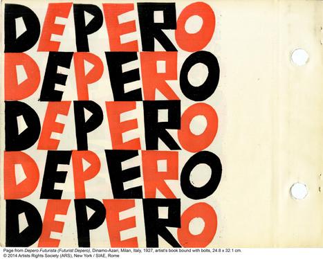 Rare 1927 Italian futurist book set to be re-published through Kickstarter | Olivia Martin | ArchPaper.com | Kbec | Scoop.it