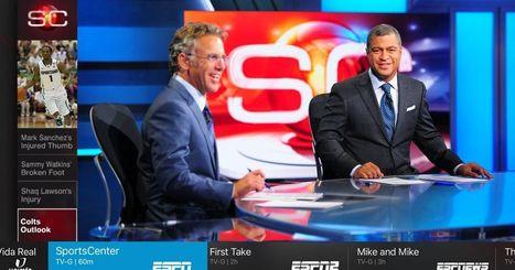 Sling TV debuts its new look on Apple TV - engadget   mvpx_CTV   Scoop.it
