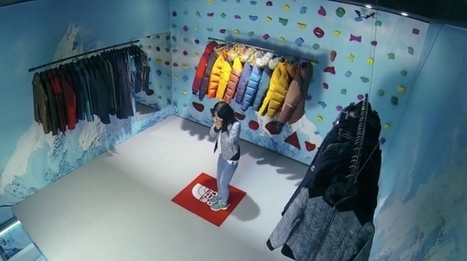 North Face Disappearing Floor Takes The In Store Customer Experience To Totally New Heights! | Strategies for Fast Changing Realities | Scoop.it