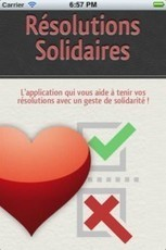 Résolutions solidaires, l'appli pour tenir ses bonnes résolutions | Grenoble numérique | Scoop.it