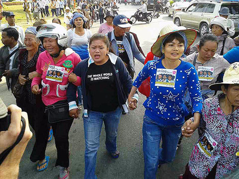 Flash News: Eleven more human rights defenders detained | Khmer | Scoop.it