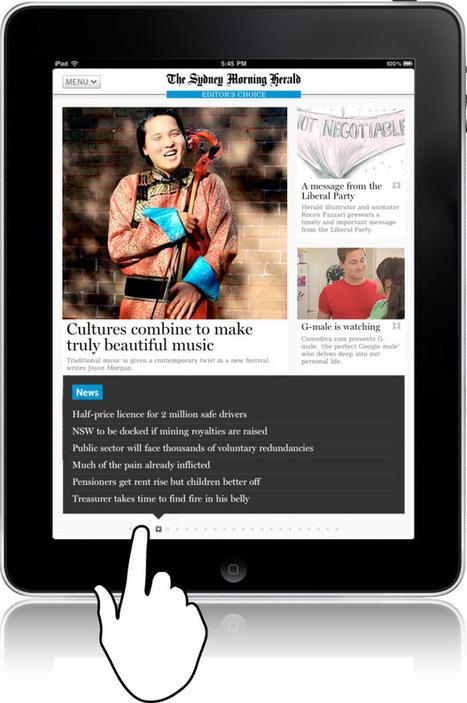 Designing for touch | Feature | .net magazine | Effective UX Design | Expertiential Design | Scoop.it