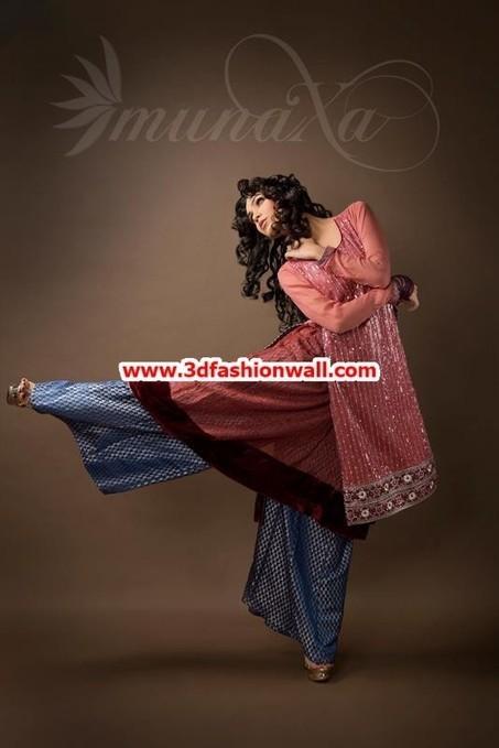 Latest Munaza Party Dresses 2013 For Women | Pakistani dresses | Scoop.it