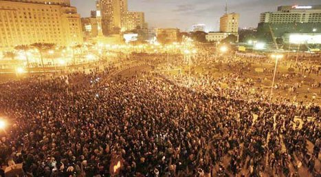 Massive Egyptian Protests Powered by YouTube, Twitter, Facebook, Twitpic [Pics, Video, Updates] | Fast Company | Spreading the Word with Social Media | Scoop.it