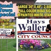 Get Your Name Out There with Political Signs by Douglas Gtreiber | Master The Art Of Political Yard Signs With Abcsigns.biz | Scoop.it