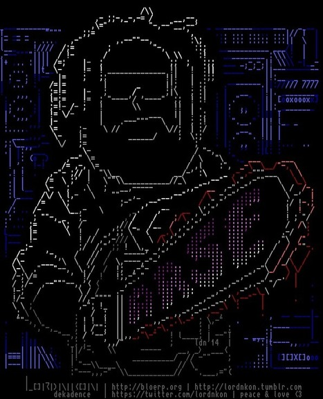 tHATS hOW i'M pAINTING aSCII aRT | ASCII Art | Scoop.it
