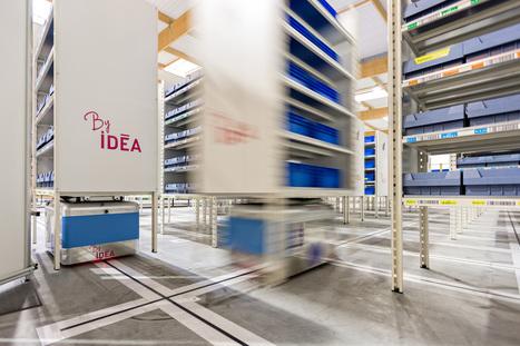 Logistique industrielle: gain de temps et d'espace, IDEAexpérimente le Magasin Automatisé Modulaire | COM4 | Scoop.it