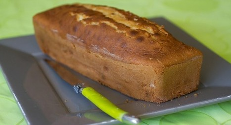 Cake moelleux banane et pépites de chocolat | Les p'tits plats | Scoop.it