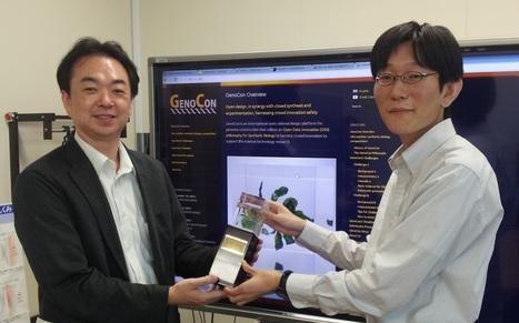 GenoCon Best Design Award presented to Masahiro Mochizuki   GenoCon2   GenoCon 2   Scoop.it