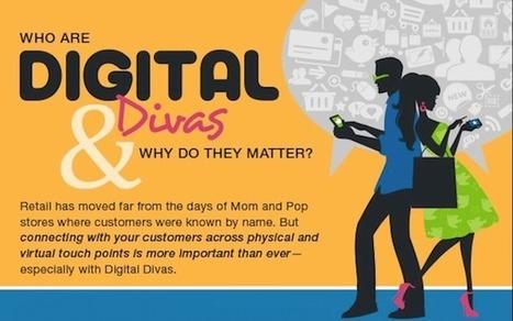 Les «Digital Divas» qui représentent 2/3 des dépenses de la mode avec un goût prononcé pour le multi-canal   M-CRM & Mobile to store   Scoop.it