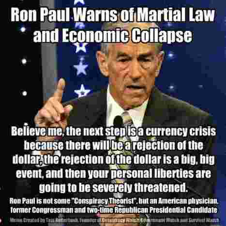 Ron Paul On The Public Debt And The Collapse Of The Dollar | Conspiracy Watch News | Scoop.it