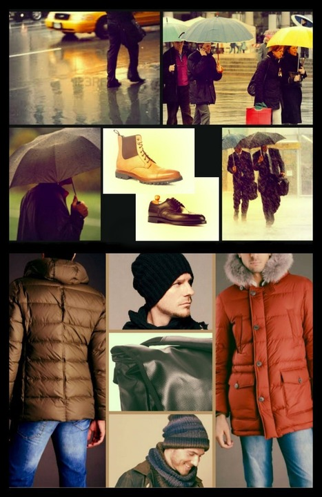 Fashion Tips: What to wear in rainy days | Le Marche & Fashion | Scoop.it