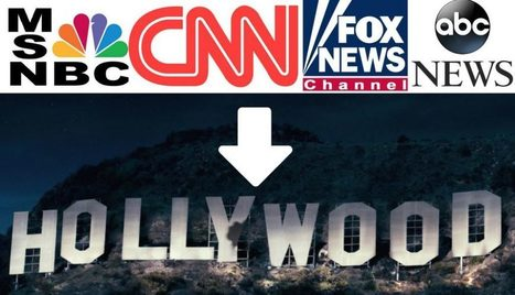 "Corporate Media Retreats to Hollywood as New ""Truth"" Media Destroys False Narratives in Real Time 