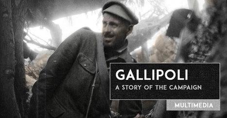 ANZAC Centenary   The Story of Gallipoli   WW1 teaching resources   Scoop.it
