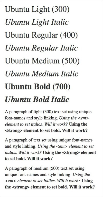 Setting Weights And Styles With The @font-face Declaration | Smashing Coding | Wordpress and webdesign | Scoop.it