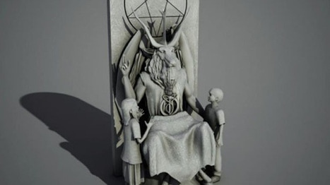 Satanic Temple unveils 7-foot goat-headed Baphomet statue for Oklahoma Capitol | Strange days indeed... | Scoop.it