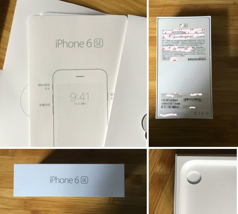 Obviously fake iPhone 6SE packaging photos are circulating around the Internet | iPhoneography-Today | Scoop.it