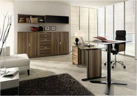 4 Modern Home-Office Furniture Designs that Make Work Fabulous! | Office Cubicles Tips | Scoop.it