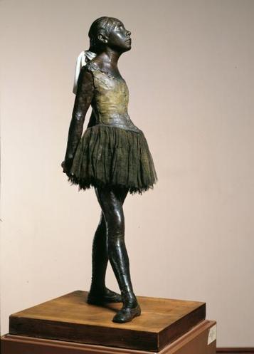 Edgar Degas, The Little Fourteen-Year-Old Dancer | Art & Design: Digital & Analog - and (Interior) Architecture | Scoop.it