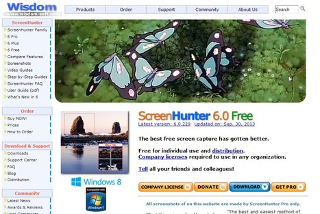 Free Screen Capture - ScreenHunter Free | Moodle and Web 2.0 | Scoop.it