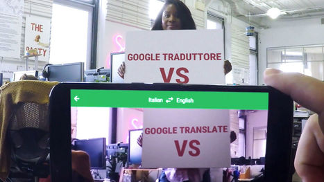 Google Translate Can Now Decipher Signs In 27 Languages | Real Estate Plus+ Daily News | Scoop.it
