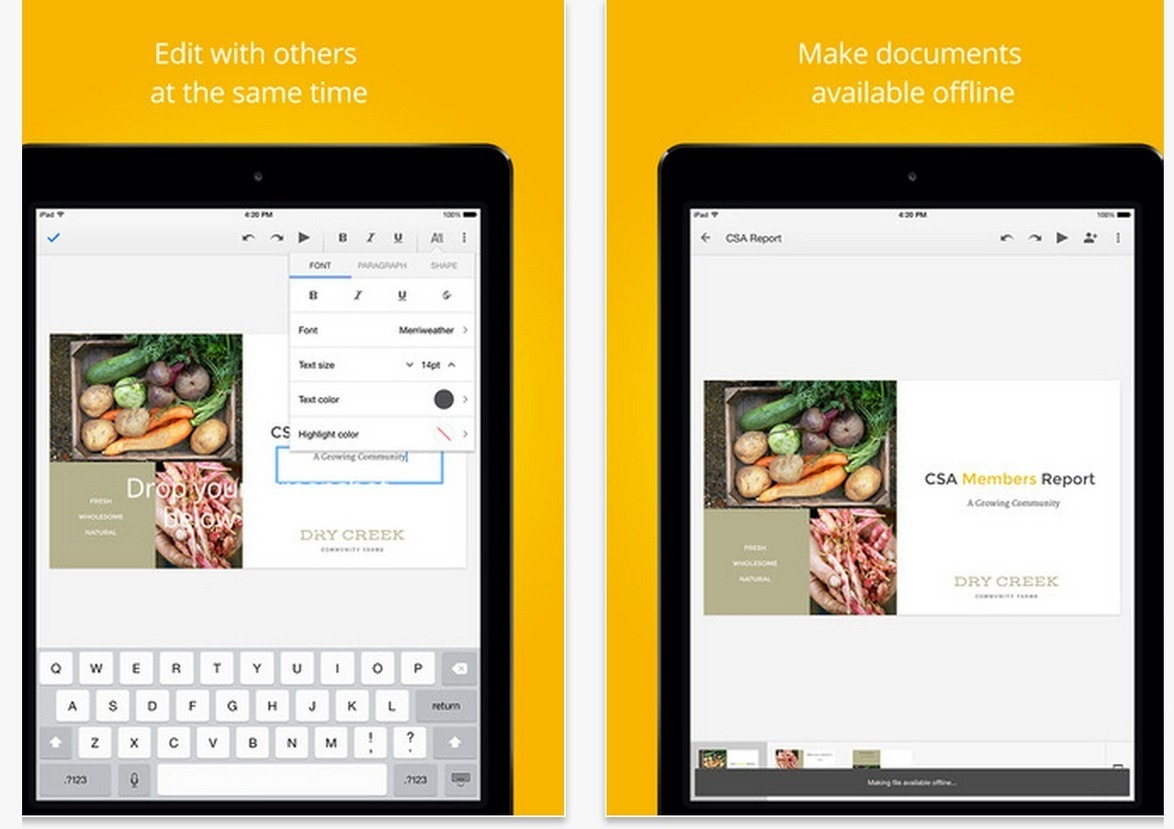 Google Slides for iPad is Finally Out ~ Educational Technology and Mobile Learning