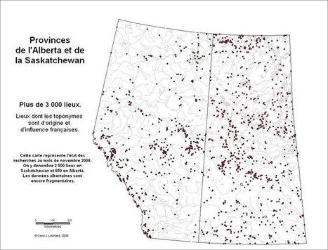Des milliers de noms de lieux français de l'Ouest canadien- Commission franco-québécoise sur les lieux de mémoire communs | Nos Racines | Scoop.it