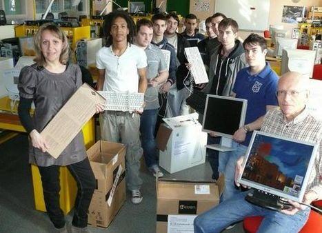 Nouvelle République : Ils réparent des ordinateurs pour des lycéens marocains - éducation | ChâtelleraultActu | Scoop.it