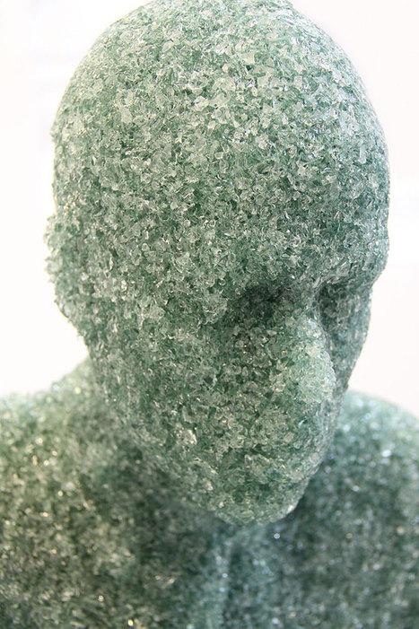 shattered glass sculptures by daniel arsham   Inspiring Art Management   Scoop.it