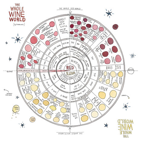 The whole wine world in one diagram [zoomable infographic] | Mornington peninsula | Scoop.it