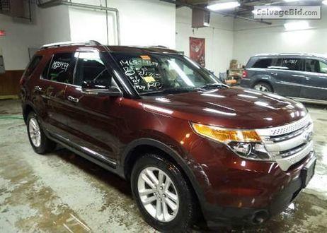 2012 FORD Explorer | Online Auto Auction | Scoop.it