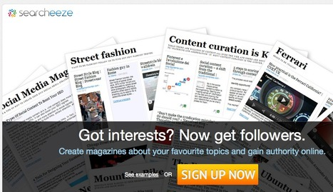 Create magazines about your favourite topics | Tech Tools and Resources | Scoop.it