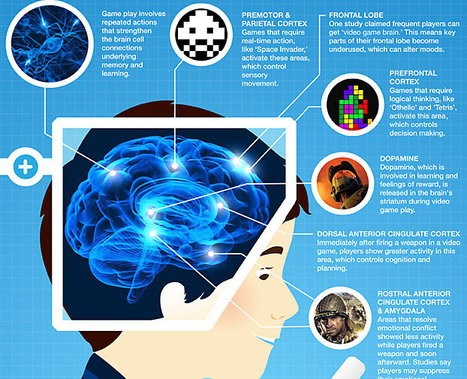 This is Your Brain on Video Games (Infographic) : Discovery Channel | gaming news and features | Scoop.it