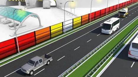 Solar energy generating noise barriers undergo tests in the Netherlands | Innovation at the Verge | Scoop.it