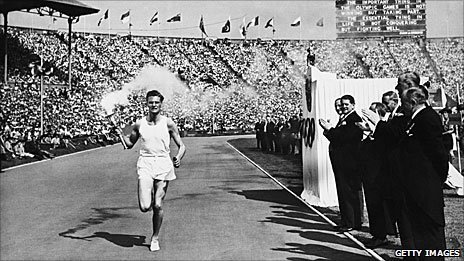 London 2012: The 1948 torch relay on a shoestring   Sound Of The ...   1948 London Olympics   Scoop.it