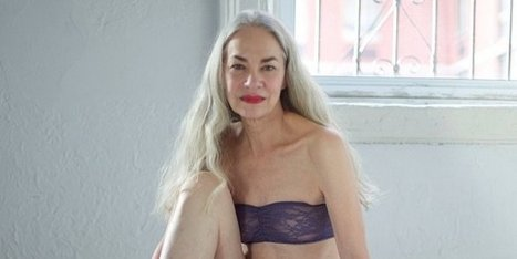American Apparel Redefines Sexy With 62-Year-Old Lingerie Model | background removal | Scoop.it