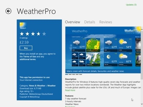 WeatherPro app for Windows 8 | hh | Scoop.it