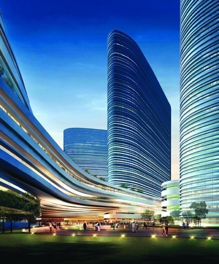 Xuzhou Suning Plaza Proposal / Aedas | Architecture MIPIM | Scoop.it