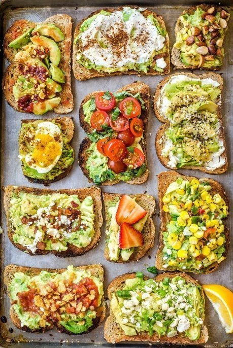 11 Easy Ways to Fancy Up Your Avocado Toast — Two-Ingredient Upgrades | Food for Foodies | Scoop.it