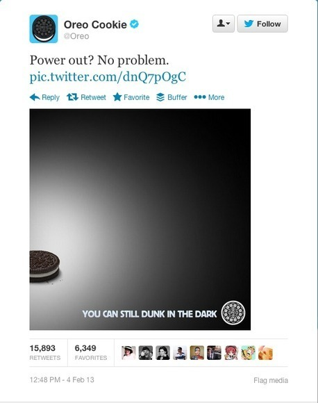 Lessons about real-time marketing from Oreo - Marketing magazine Australia | Real-Time | Scoop.it