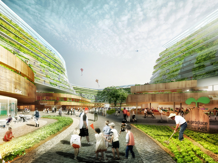 SPARK Proposes Vertical Farming Hybrid to House Singapore's Aging Population | architecture verte | Scoop.it