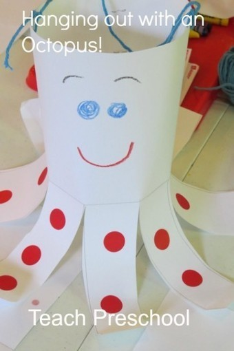Hanging out with an octopus   Teach Preschool   Scoop.it