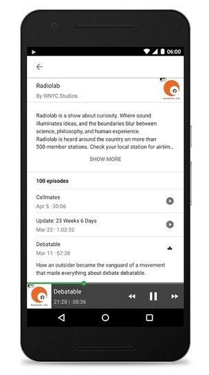 Listen to podcasts in the Google App on Android | RSS Circus : veille stratégique, intelligence économique, curation, publication, Web 2.0 | Scoop.it