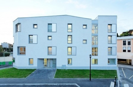 [Rambouillet, France] Transition Centre of 24 housing in Rambouillet / Benjamin Fleury | The Architecture of the City | Scoop.it