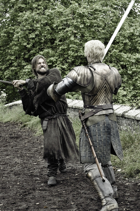 Game of Throne Spoilers: Could Jaime and Brienne's Relationship Turn ... - Wetpaint | game of thrones | Scoop.it
