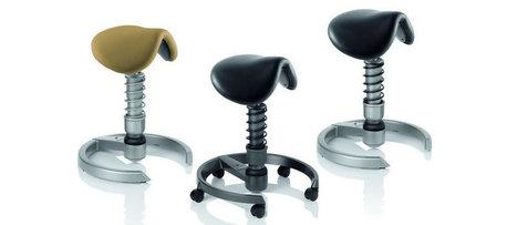 Une nouvelle forme d'assise pour être en forme : Swopper Sattel | Tabouret ergonomique Muvman | Scoop.it