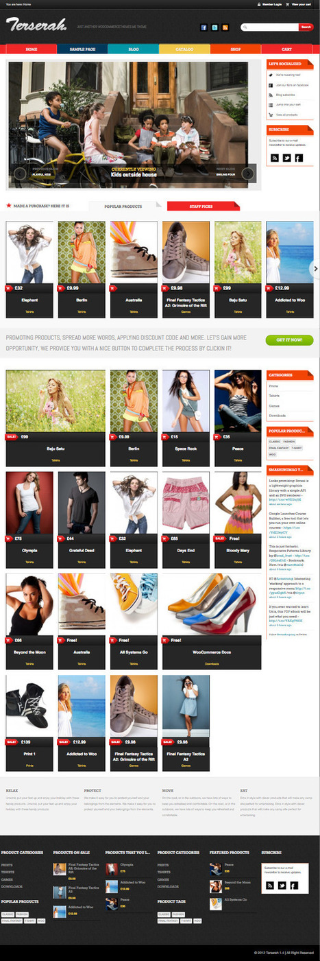 Terserah Responsive WooCommerce Theme | wordpress genius | Scoop.it